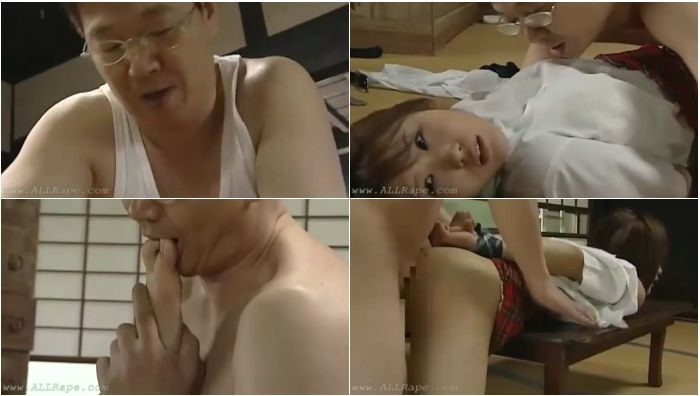 191_AzRp_Rape Asian Schoolgirl On The Floor