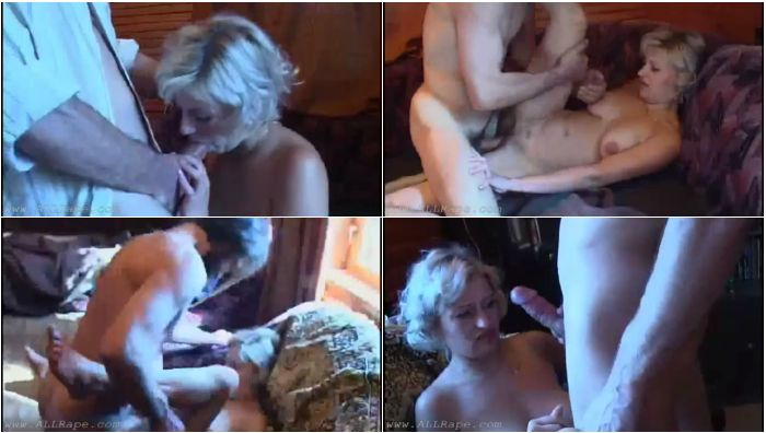 199_RusRp_Seductive Blonde Gets Caught Masturbating And Gets Raped By Her Dad